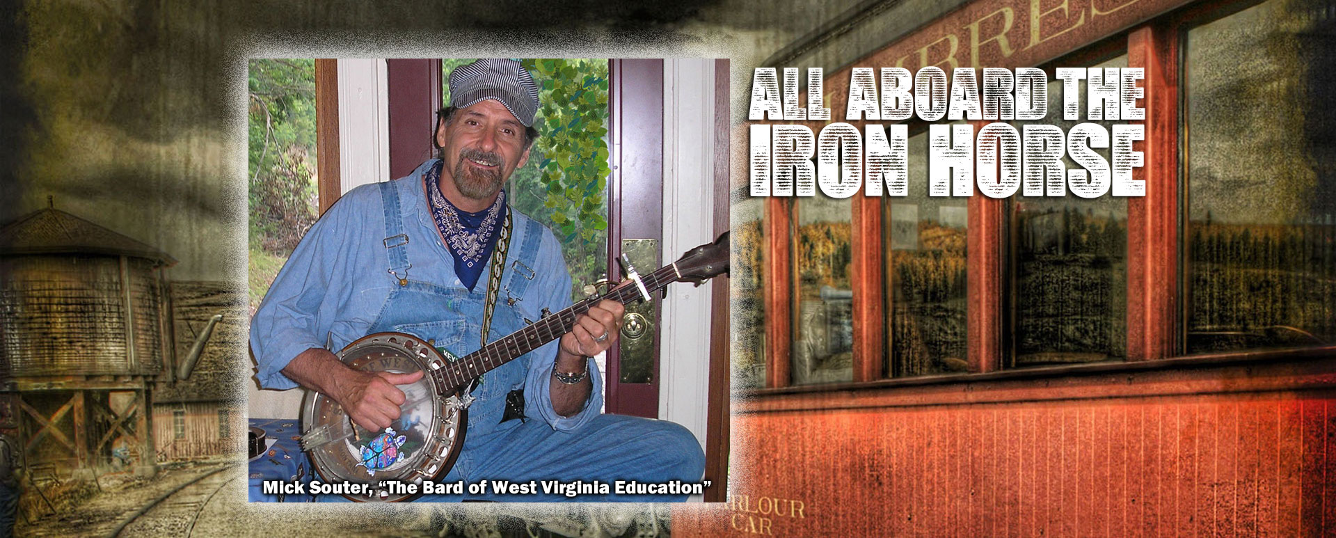 Mick Souter - All Aboard The Iron Horse