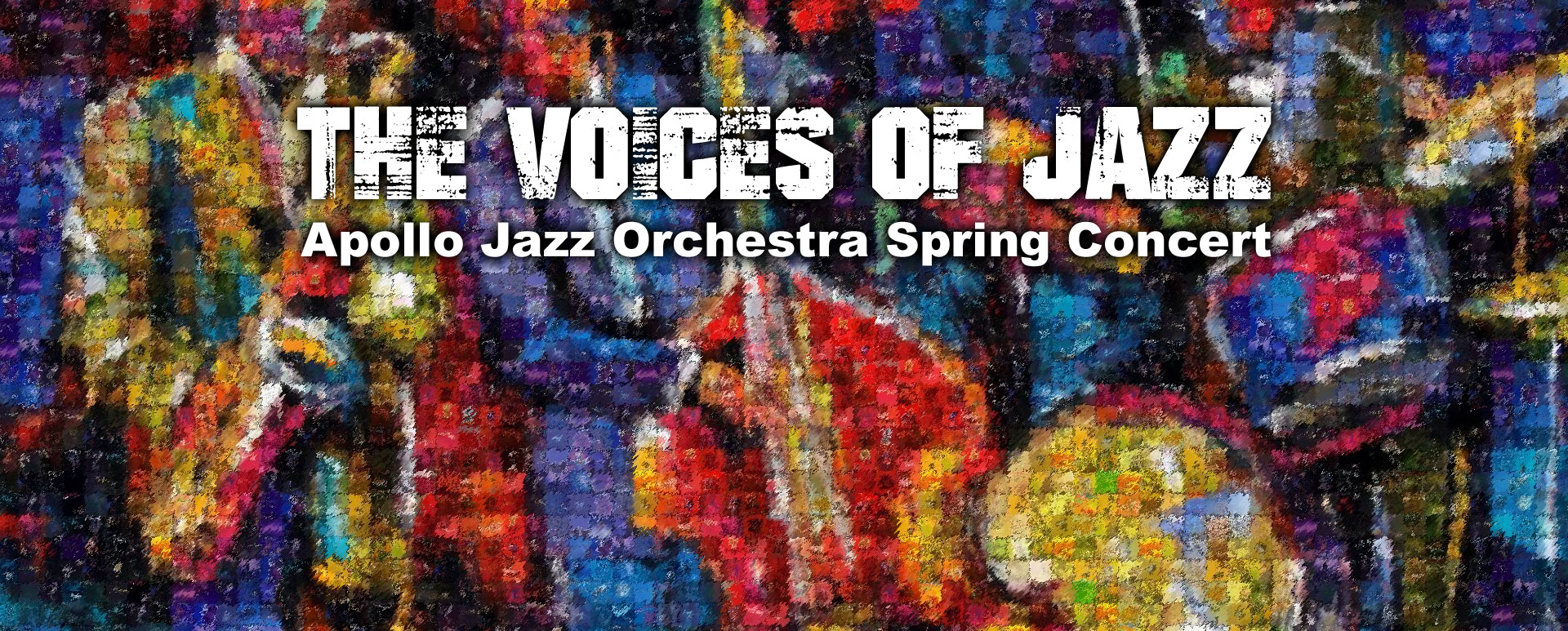 The Voices of Jazz - Apollo Jazz Orchestra Spring Concert
